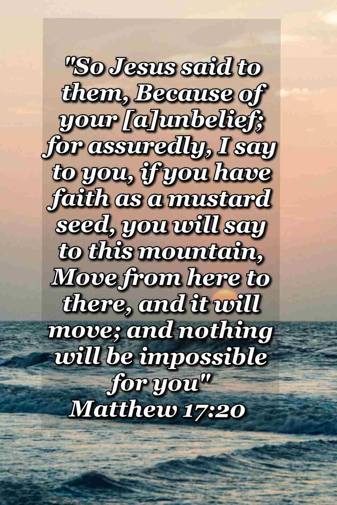 bible varses wallpaper faith (matthew 17:20)
