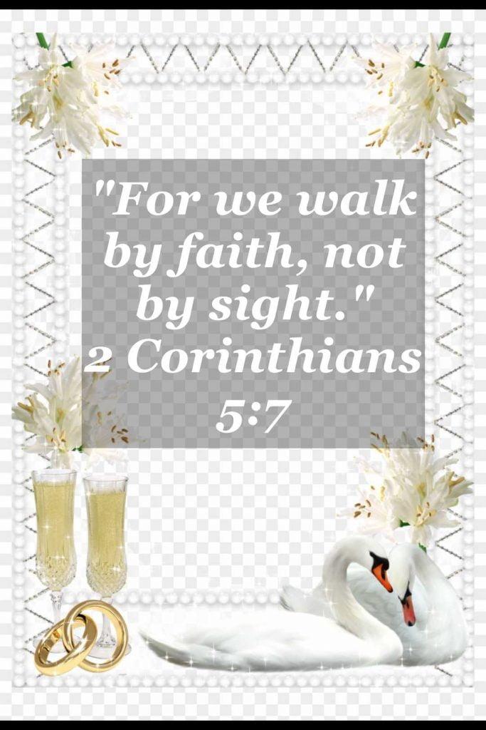 bible varses wallpaper faith (2 Corinthians 5:7)