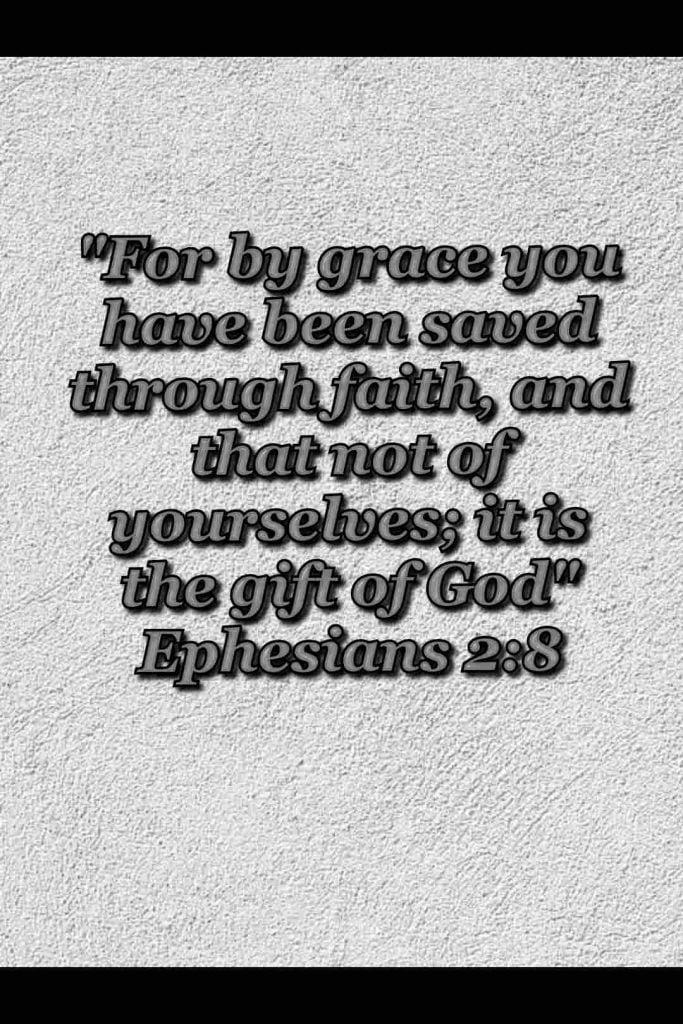 bible varses wallpaper faith (Ephesians 2:8)