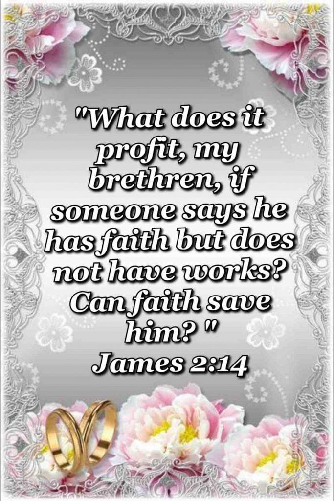 bible verse wallpaper (James 2:14)