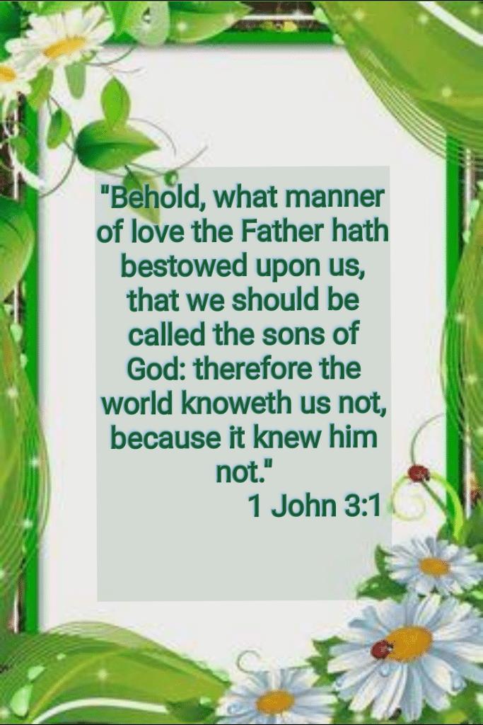 bible verses wallpaper (1 john 3:1)